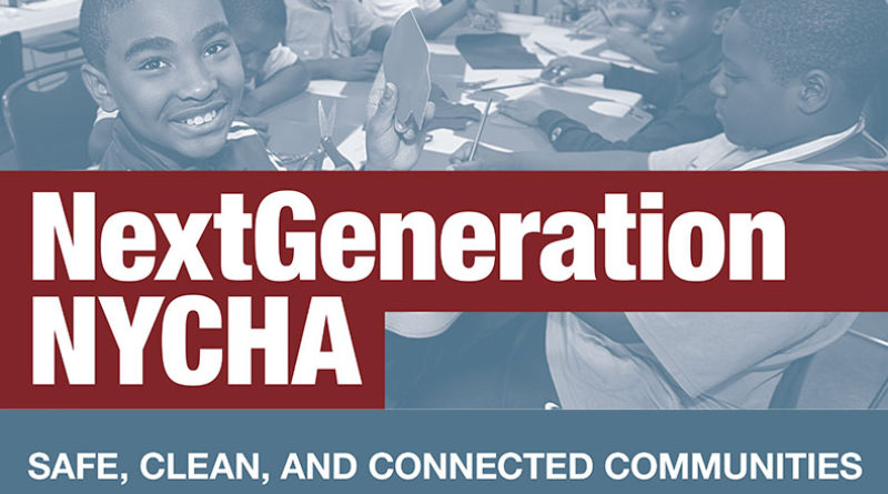 NextGeneration NYCHA - Safe, Clean and Connected Communities