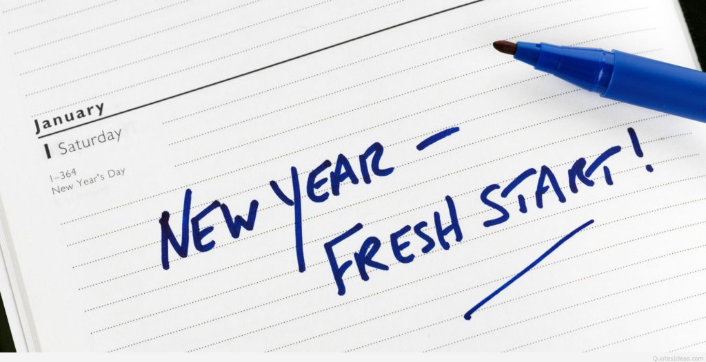 fresh start new year