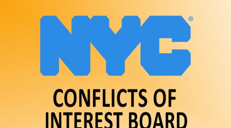 NYC Conflicts of Interest Board