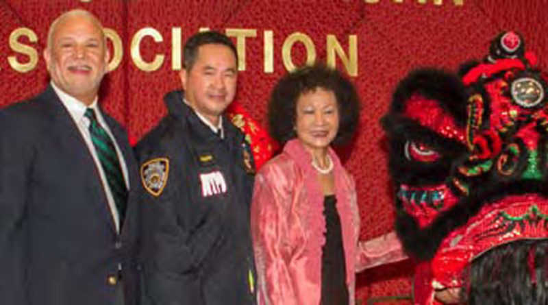 GM Michael Kelly, NYPD Chief of Transportation Thomas Chan, CAA Chair Nancy Lam, and Chair Shola Olatoye