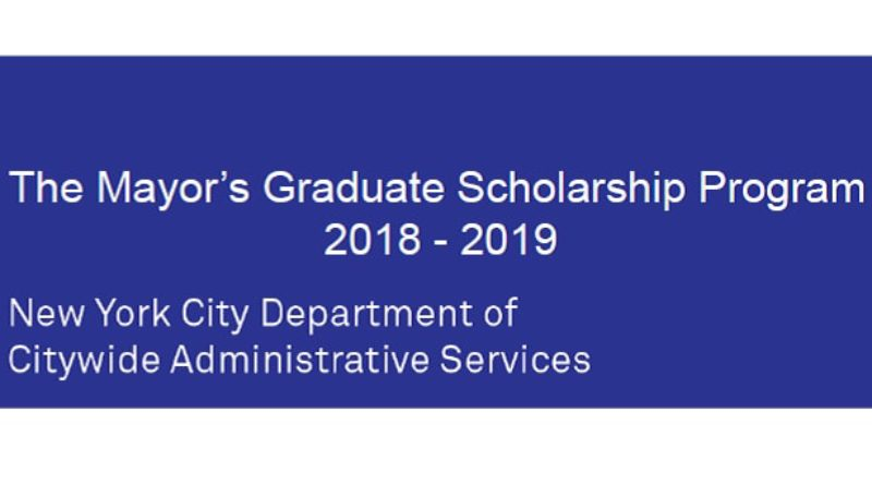 Mayor's Graduate Scholarship Program
