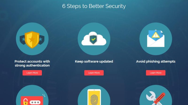 Six Steps to Better Security