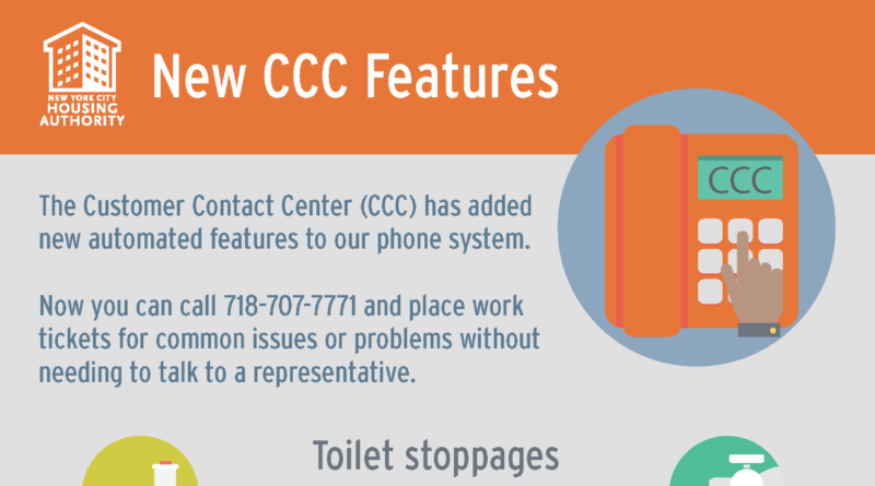New CCC Features