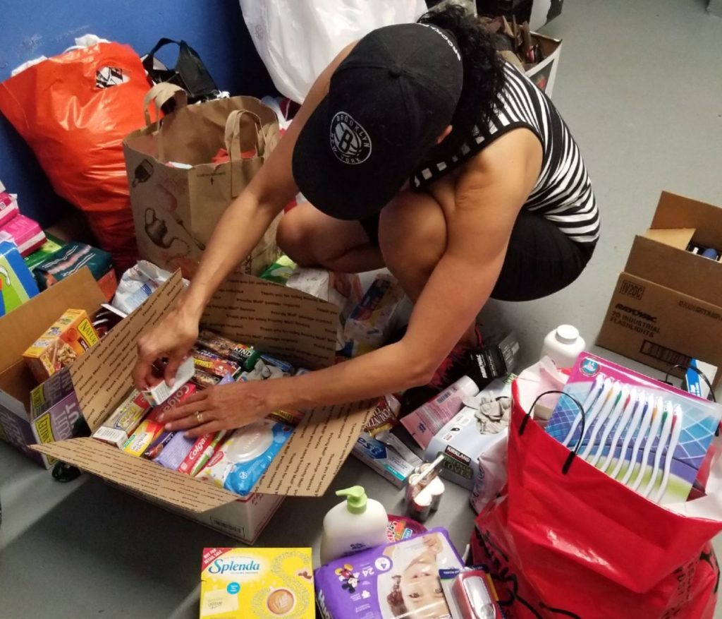 Hurricane victims fundraiser