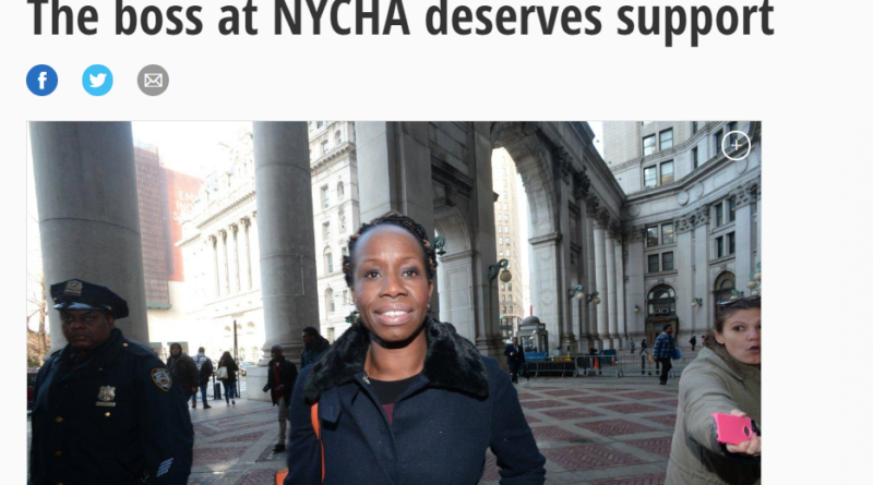 The boss at NYCHA deserves support