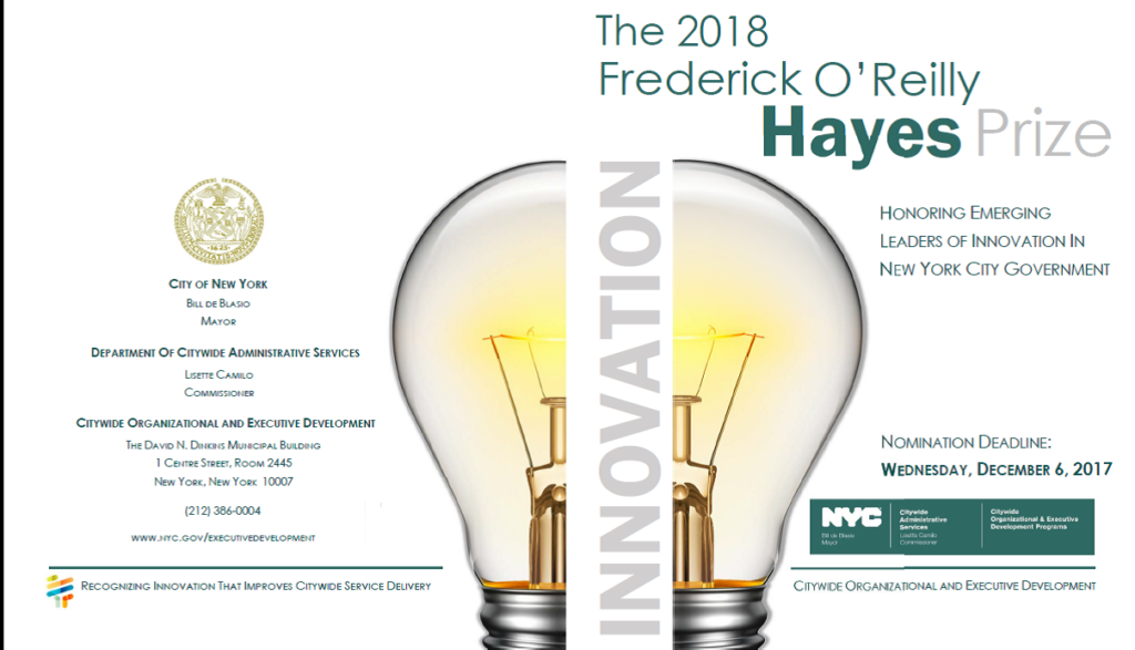 Hayes Prize 2018