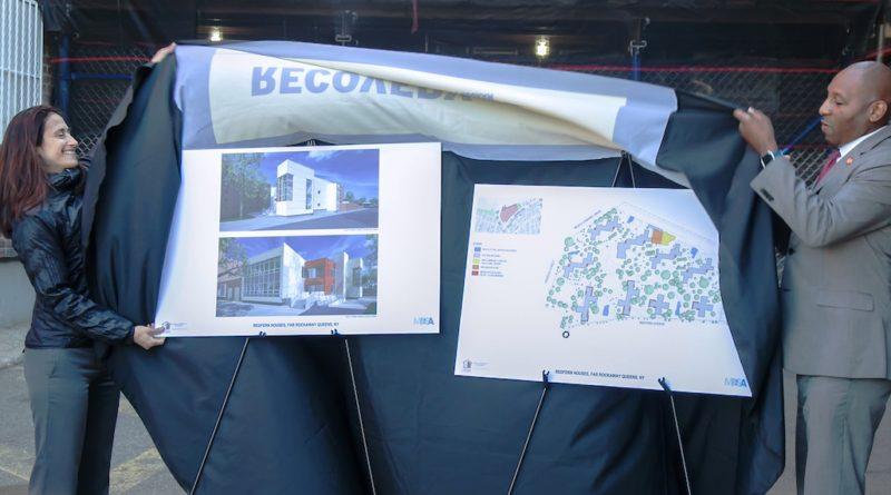 Renderings of new community center