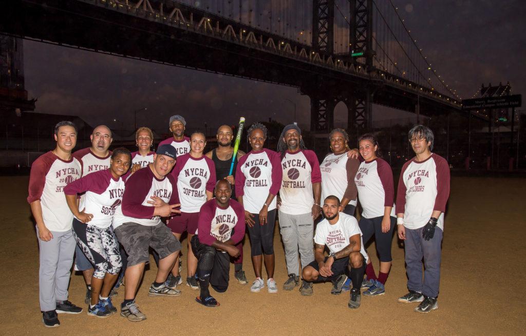 NYCHA softball team