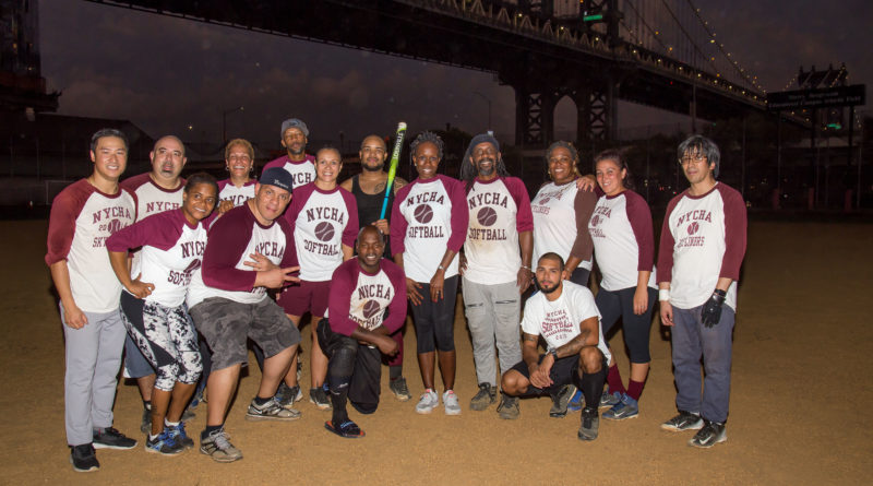 NYCHA softball team