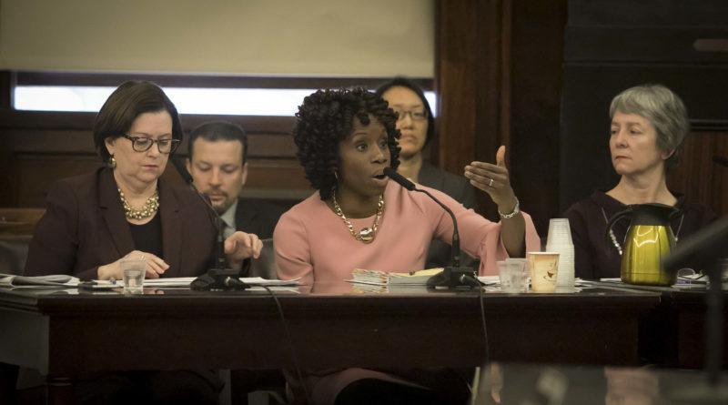 Chair Olatoye at City Council hearing
