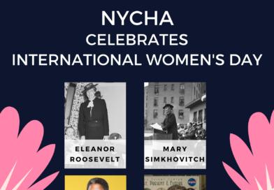 NYCHA Celebrates International Women's Day