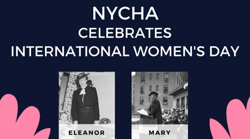NYCHA Celebrates International Women's Day