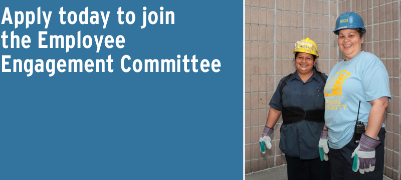 Apply today to join the Employee Engagement Commitee