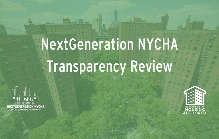 NextGeneration NYCHA Transparency Review