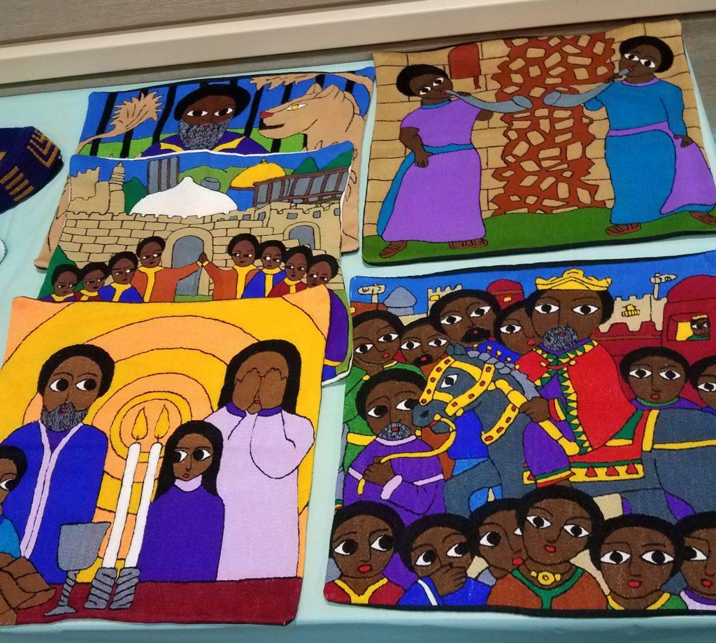 Handiwork from Ethiopian Jews