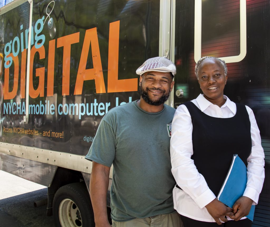 NYCHA Digital Van