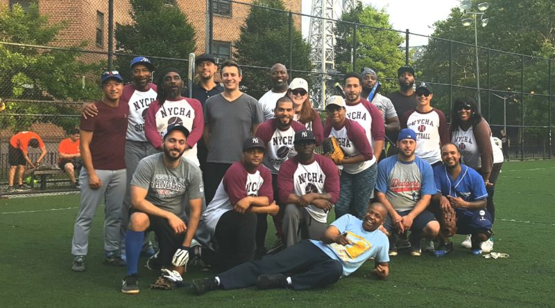 The NYCHA Skyliners softball team