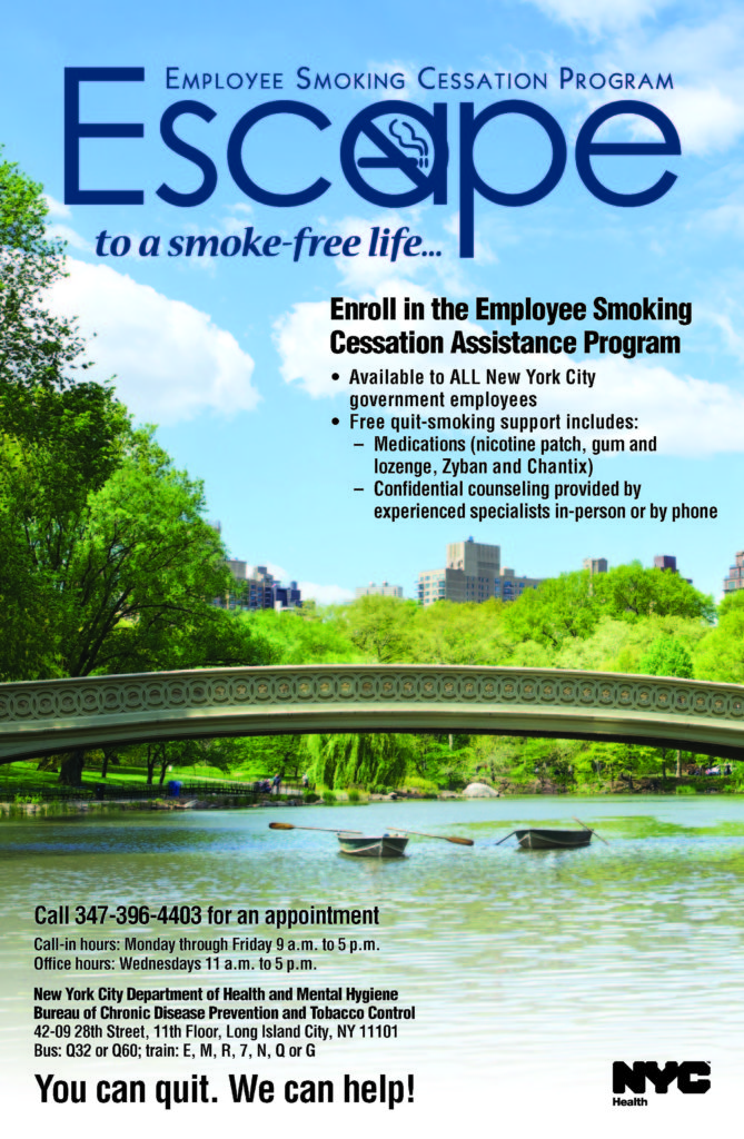 Employee smoking cessation assistance program