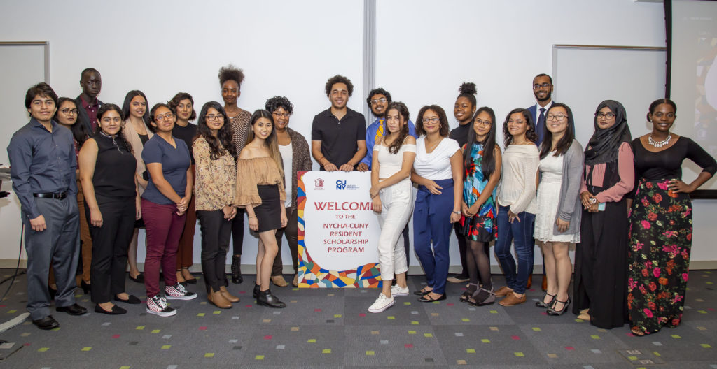 The 2018 NYCHA-CUNY Scholars