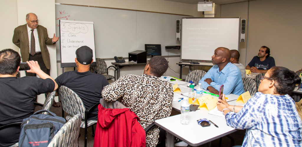 Exceptional customer service training class