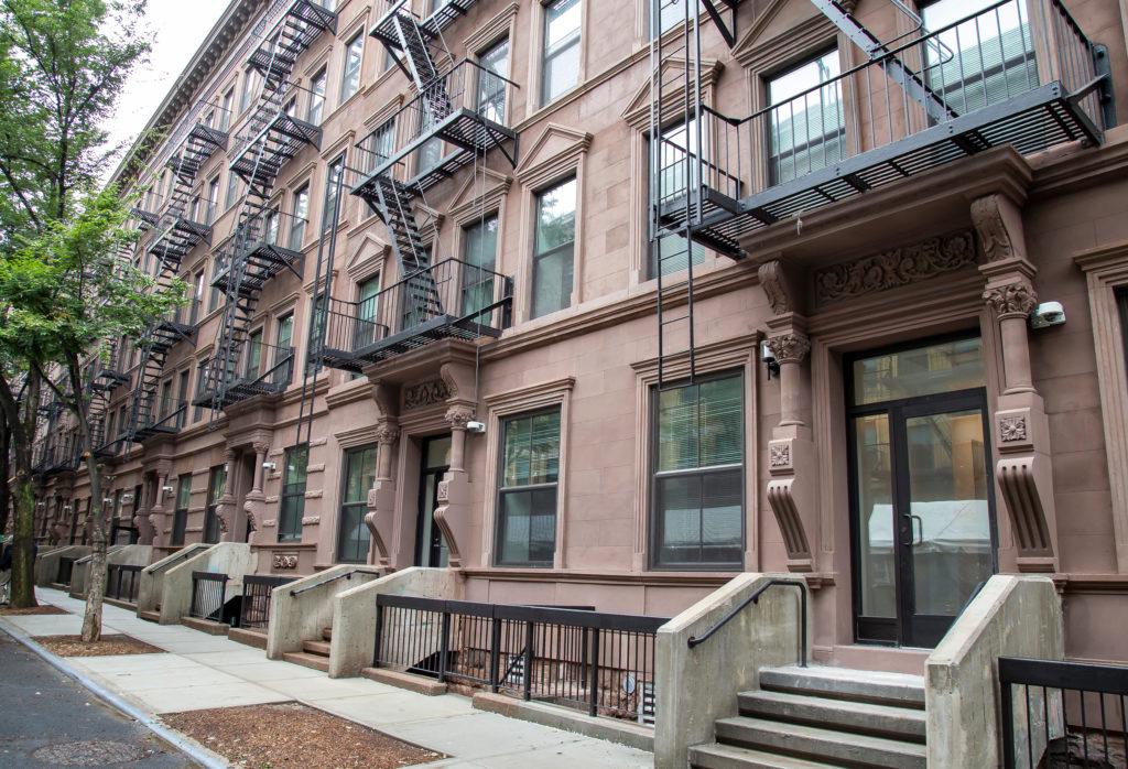 Randolph Houses facade