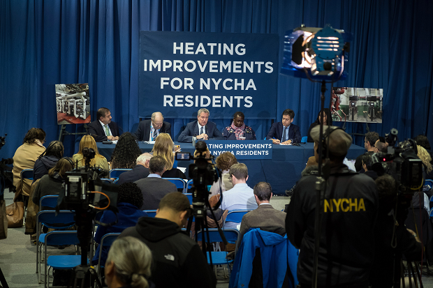 Heating improvements for NYCHA residents