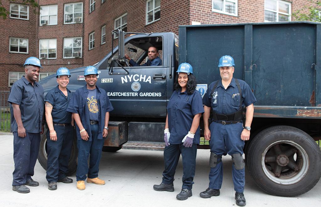 NYCHA caretakers