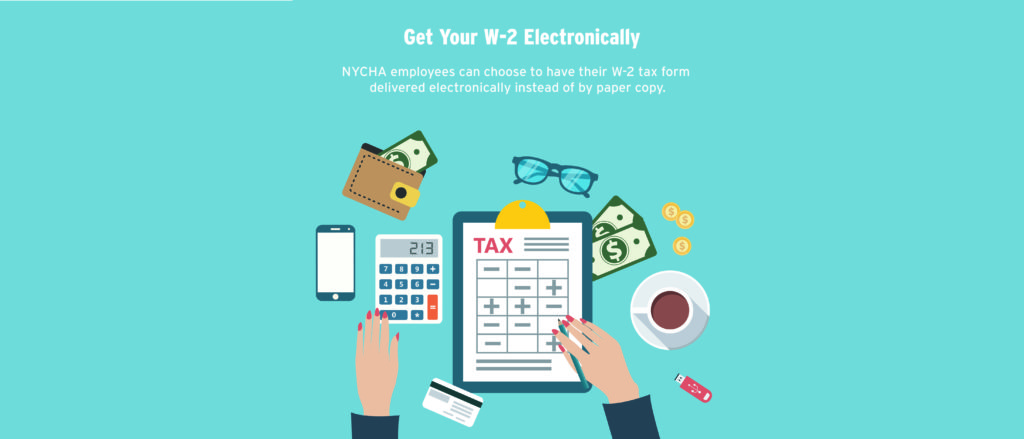 Electronic W-2 delivery