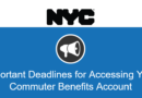 Important Deadlines for Accessing Your Commuter Benefits Account