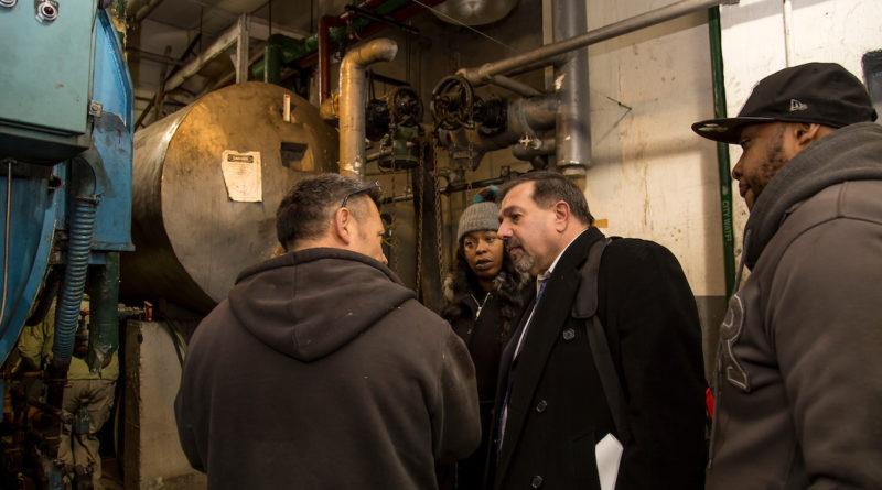 Old boilers at Fiorentino Plaza